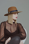 Шляпа CHRISTYS арт. ALEXA cso100177 (синий)